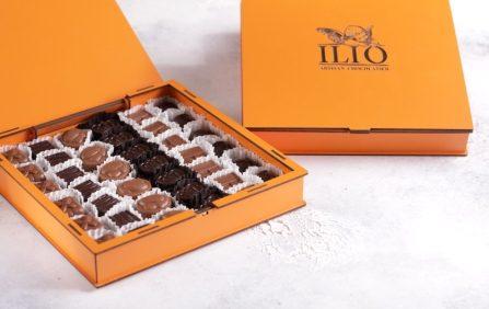 کیک تولد- ارسال هدیه به تهران- ارسال هدیه به ایران- تبریک تولد- ترافل - ارسال شیرینی - ارسال شکلات - شکلات - شکلات دست ساز ایلیو